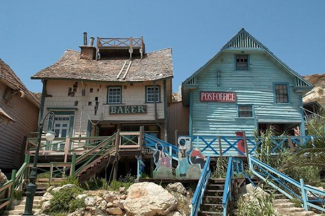 Kỳ bí ngôi làng của thủy thủ Popeye ở Malta
