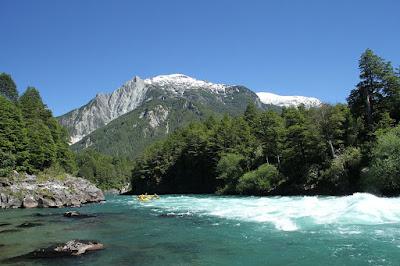 Rio Futaleufu (Futaleufu River), Southern Chile.