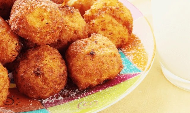 Onion and cheese balls