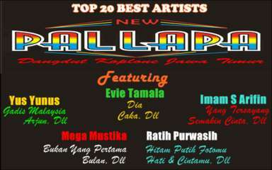 New Pallapa feat Evie Tamala, Yus Yunus, Ratih Purwasih, Imam S Arifin, Mega Mustika