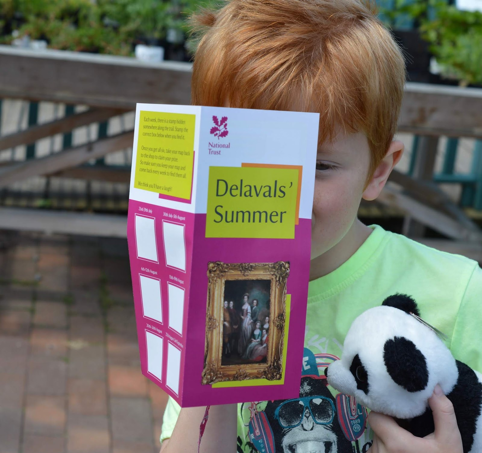 10 Reasons to Visit Seaton Delaval Hall  - trail map