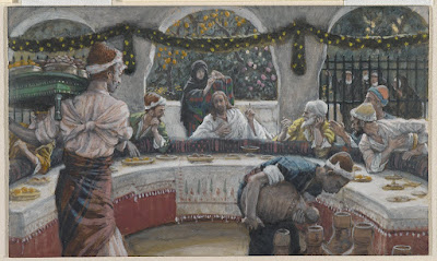 James Tissot (French, 1836-1902). The Meal in the House of the Pharisee