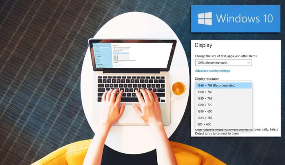 Hướng dẫn cách thay đổi độ phân giải màn hình máy tính Win 7, 8, 10