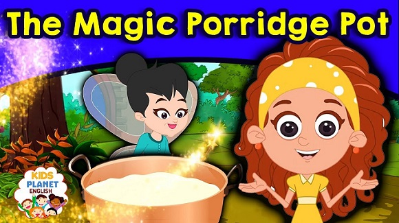 The Magic Porridge Pot English Stories For Kids