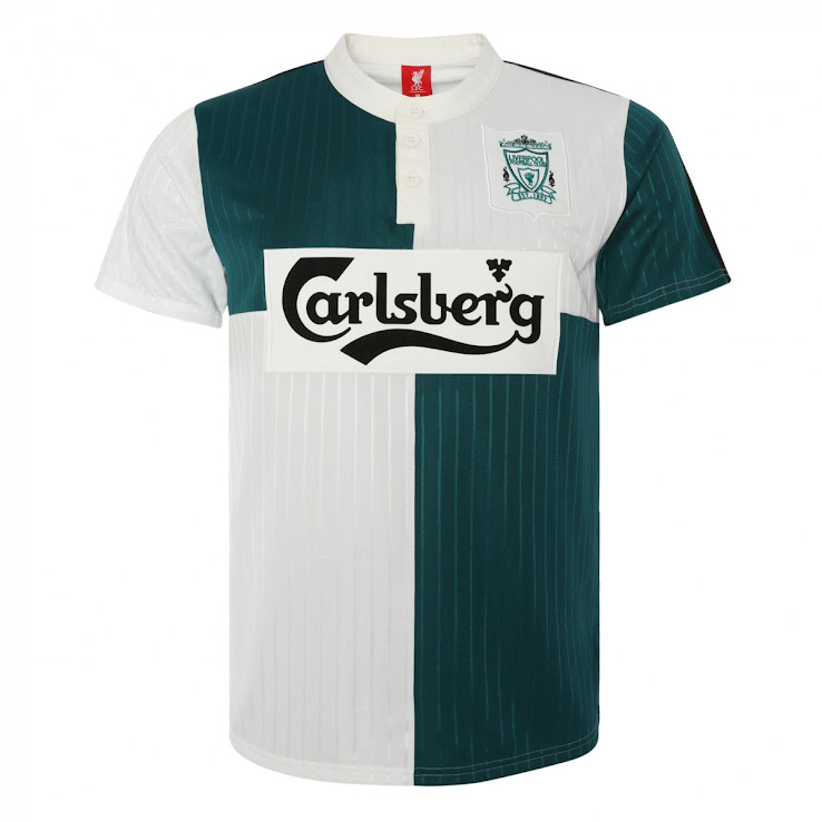 9e229cb47a2 Awesome Liverpool FC 2019 Retro Kit Collection Released - Footy ...