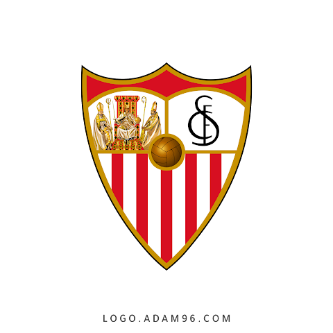 Sevilla FC Logo Original PNG Download - Free Vector