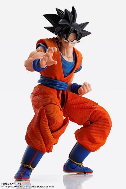 Imagination Works Son Goku 1/9 de Dragon Ball Z - Tamashii Nations