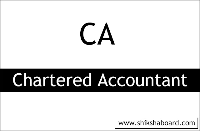 What is the Full Form of CA Course & How to Become a CA?