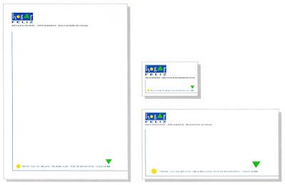 diseño gráfico de papelería comercial