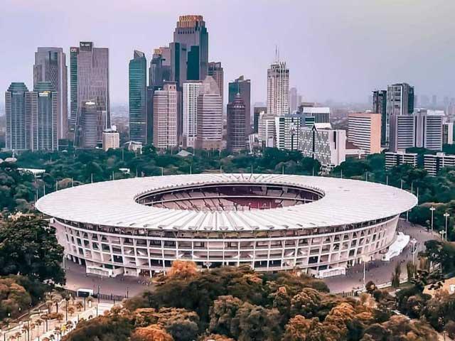Desain Gelora Bung Karno Mirip dengan Stadion di Rusia