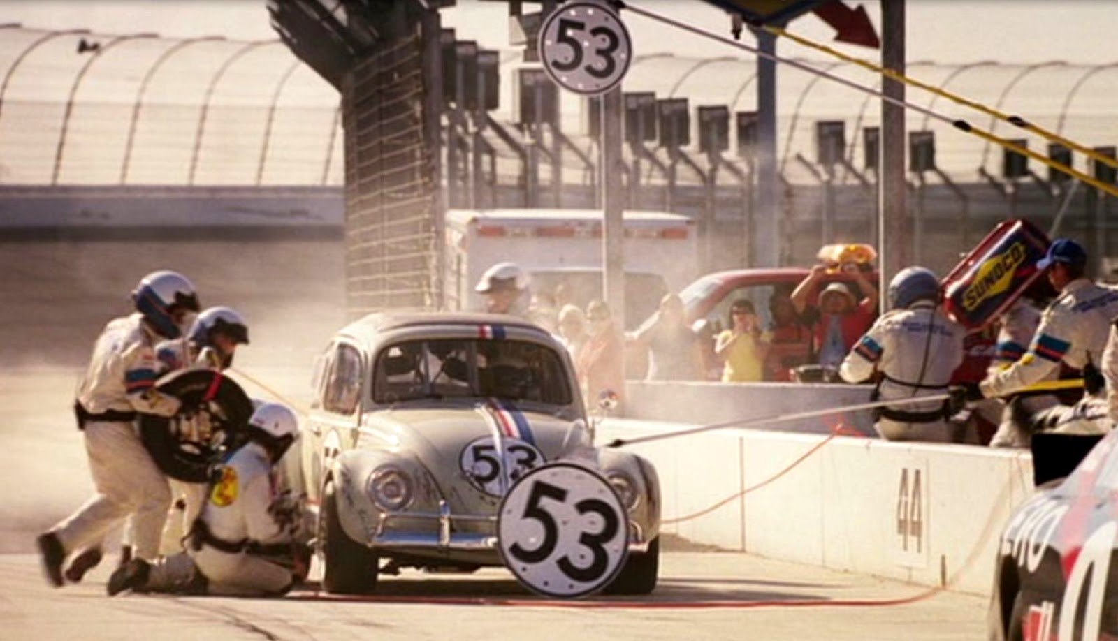 Just A Car Guy: Herbie: Fully Loaded... another fun Herbie movie, which  never let you down. Reminds you how many great race cars have been in  Herbie movies