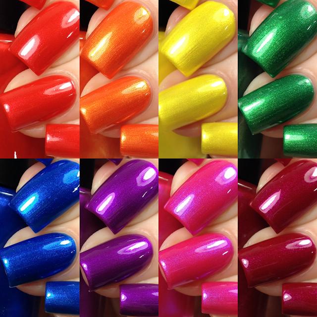Tonic Polish-Rainbow Brights