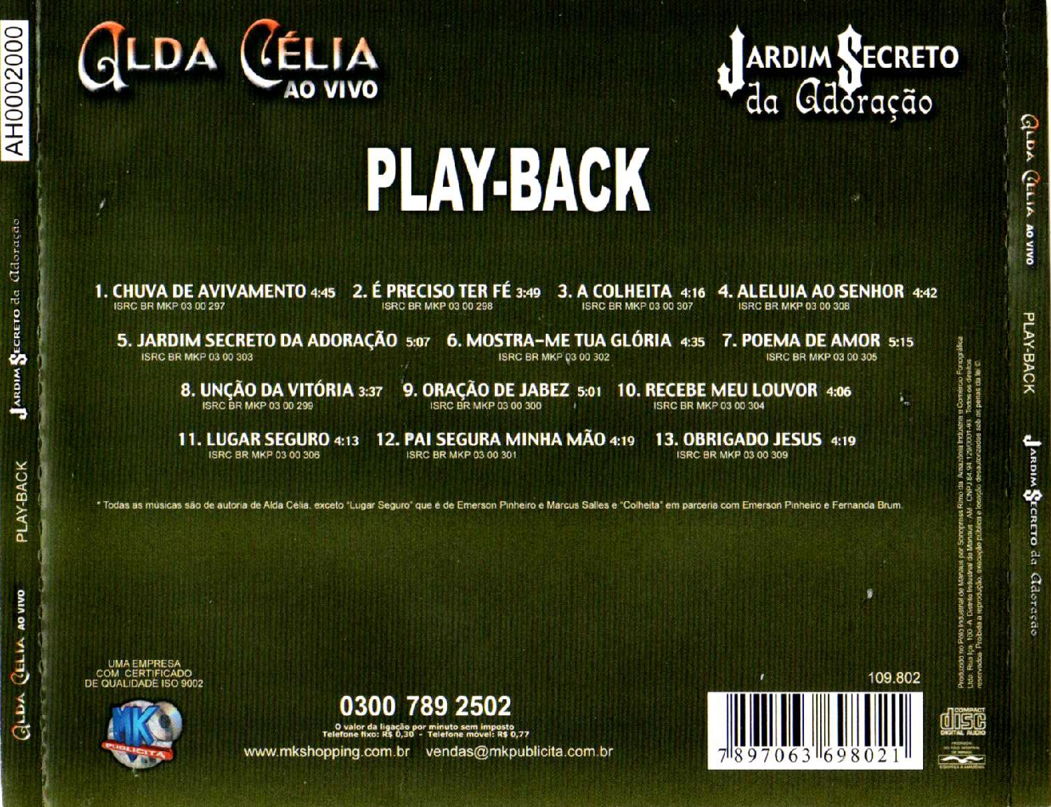 SECRETO ADORAO BAIXAR JARDIM CD DA CELIA ALDA