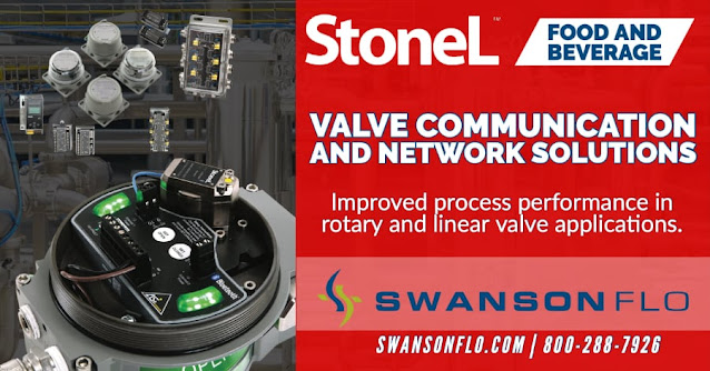 Valve Communications for Food and Beverage