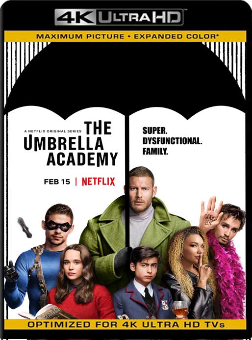 The Umbrella Academy (2019) 4K 2160p UHD [HDR] Latino [GoogleDrive]