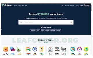10 Website Gratis untuk Mempermudah Pekerjaan Anda 1 flaticon