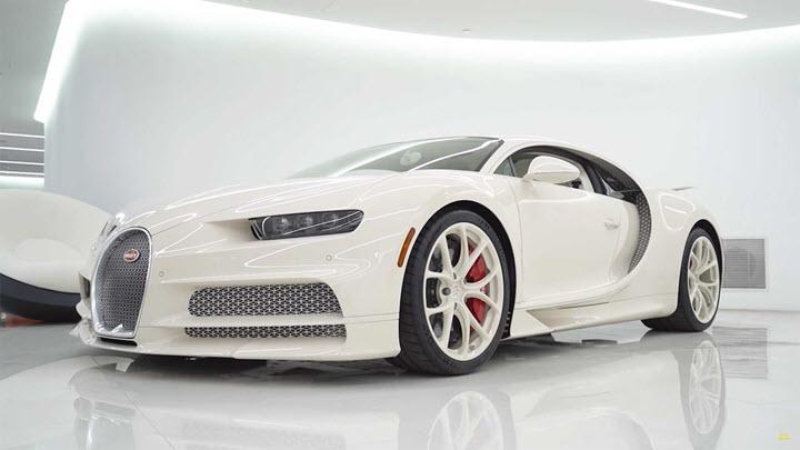 Triệu phú sở hữu ba siêu xe Bugatti hàng 'độc'