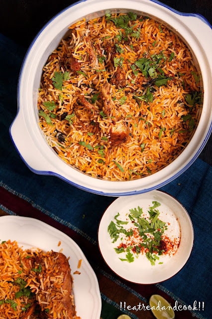 how to cook Spicy Kadai Biryani recipe