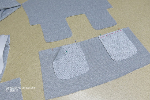 como hacer unos bolsillos en una costura
