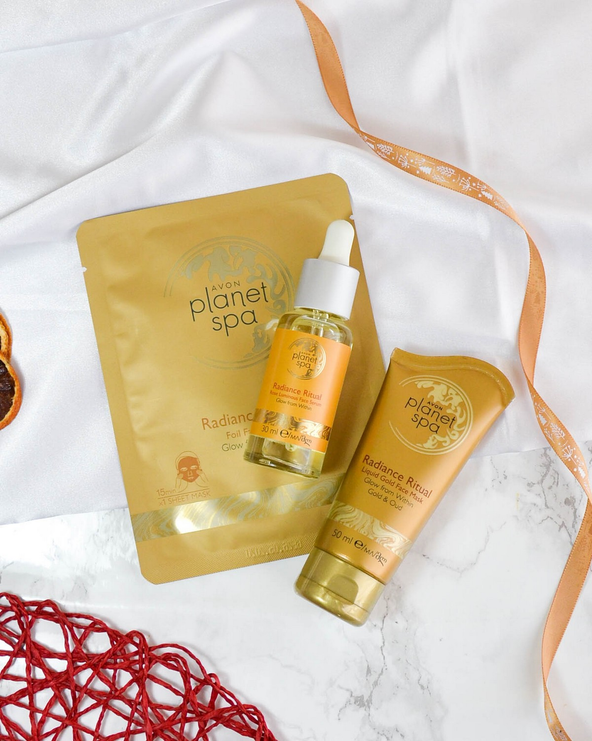 December Blogger Mail (New In #45) Avon Planet Spa