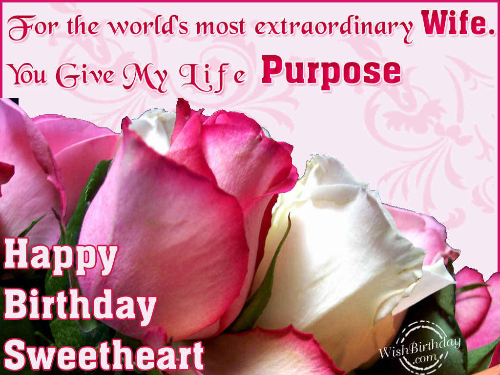 Happy Birthday Message Husband ~ Best images for happy birthday wishes to wife from husband