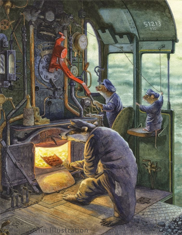 oh by the way beauty illustrationchris dunn