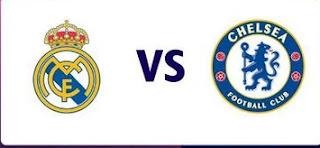 Champions Real Madrid vs Chelsea