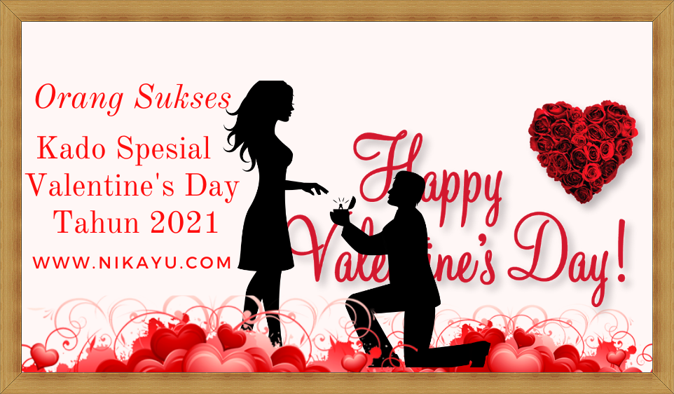 Kado Spesial Terbaru Valentine's Day 2021
