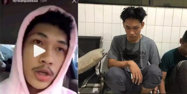 Ferdian Pelaka Ditangkap, Viral: ''Sebentar Lagi Kamu Bebas, Tapi Boong! yeee''