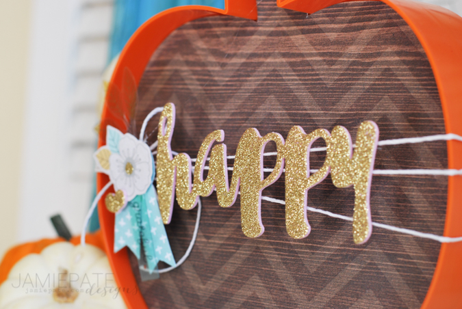 Home Decor using Memorandum & Cedar Lane from Pink Paislee  |  @jamiepate for @pinkpaislee