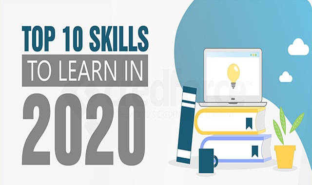 Top 10 Skills to Learn in 2020 #infographic