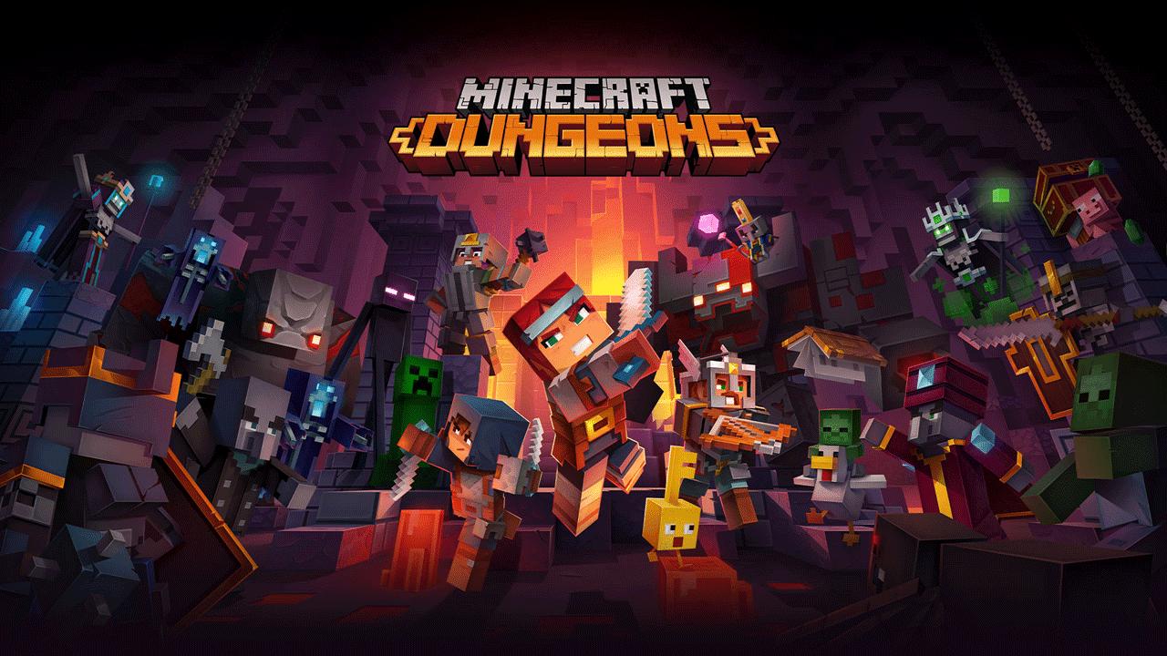 Link Tải Game Minecraft Dungeons  Free Download