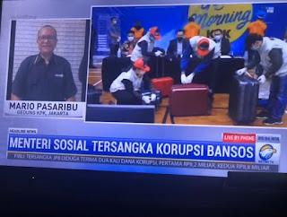 KPK Tetapkan Mensos (PDIP) Tersangka Korupsi Bansos di Masa Pandemi, Terancam Hukuman Mati