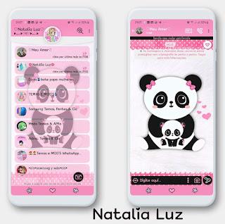 Panda Theme For YOWhatsApp & Fouad WhatsApp By Leidiane