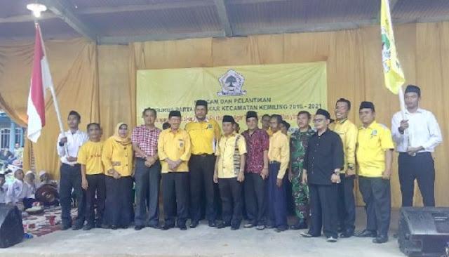 Mashudi, S.E., Pimpin Partai Golkar Kecamatan Kemiling