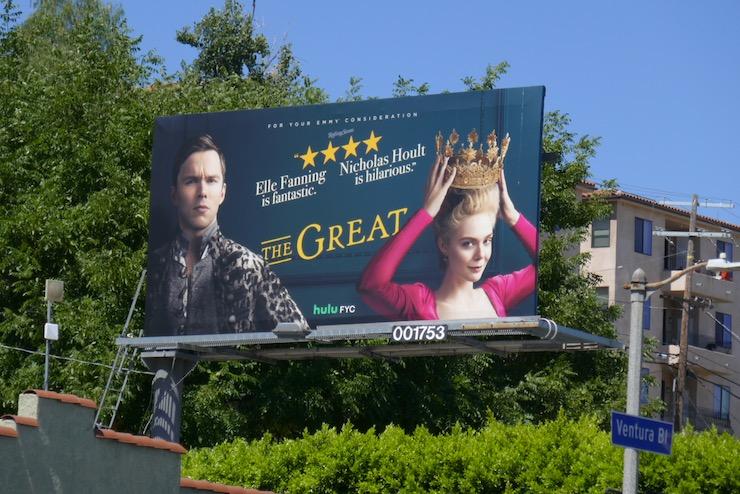 Great Emmy FYC 2020 billboard