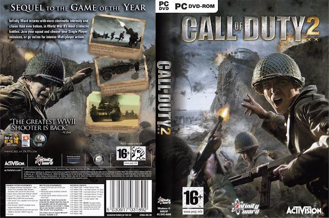 تحميل : لعبة Call Of Duty 2 بحجم [ 2GB ] كاملة الان  تورنت