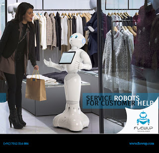 Service Robots For Customer Help