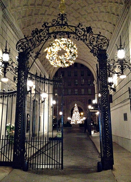 Awesome Apthorp Apartments - 'Tis the Season!