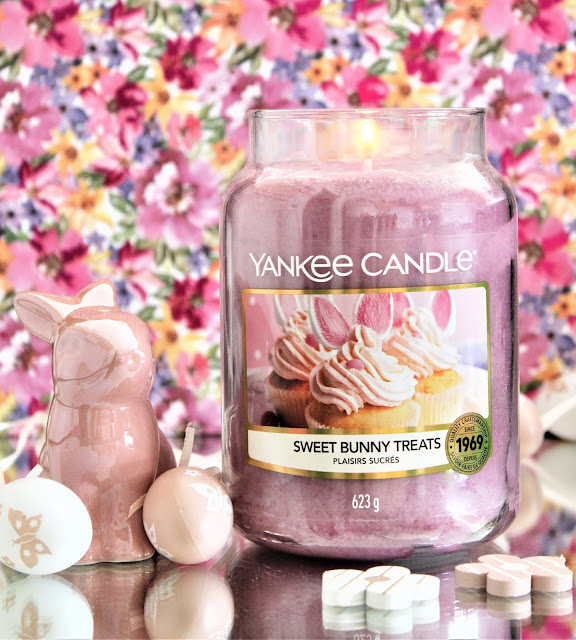 Yankee Candle Sweet Bunny Treats Edition Limitée Pâques avis,, bougie de pâques yankee candle, bougie yankee candle avis, sweet bunny treats, bougie sweet bunny treats, plaisirs sucrés, bougie yankee candle plaisirs sucrés, nouveau parfum yankee candle, yankee candle pâques, bougie parfumée vanille, bougie parfumée gourmande