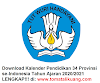 Download Kalender Pendidikan 34 Provinsi T.A. 2020/2021 PDF (LENGKAP!!)