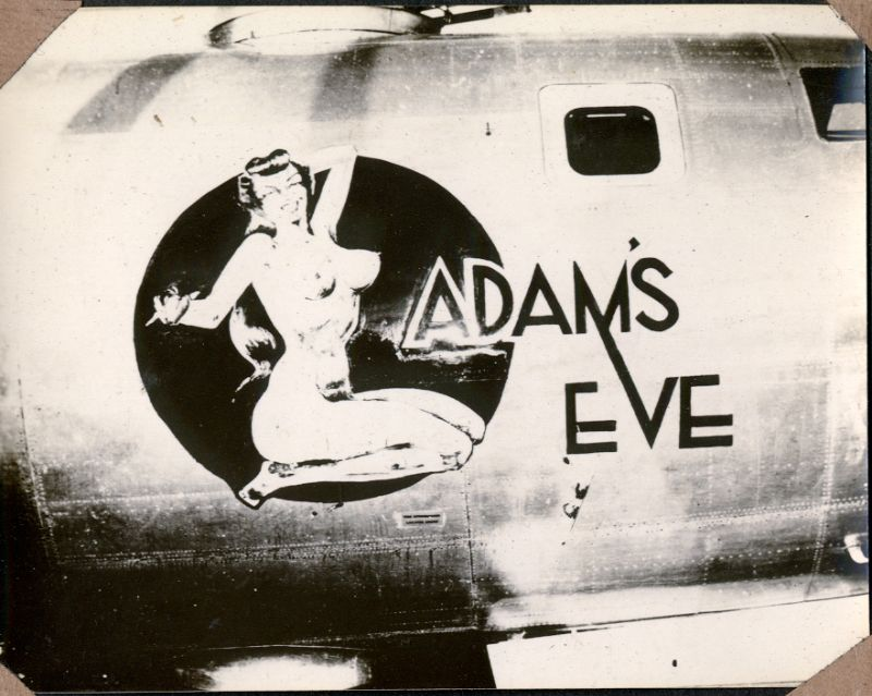 15 Found Photos That Show Pin-Up Bombshell Nose Art of World War II Bombers