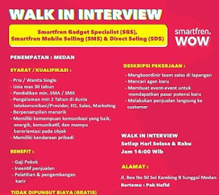 Sales dan Marketing di PT Smartfren Telecom Tbk