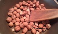 tostar los frutos secos a fuego lento