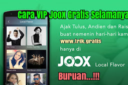 Cara VIP Joox Gratis Selamanya