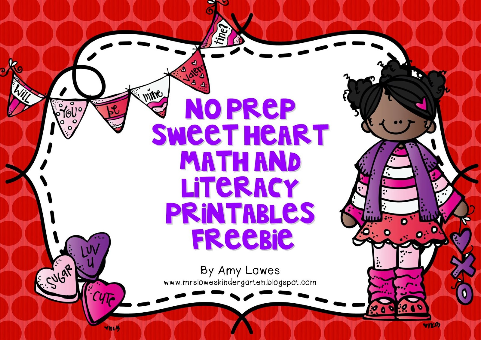 Mrs Lowes Kindergarten Korner No Prep Valentine S Day Math And Literacy Printables Giveaway