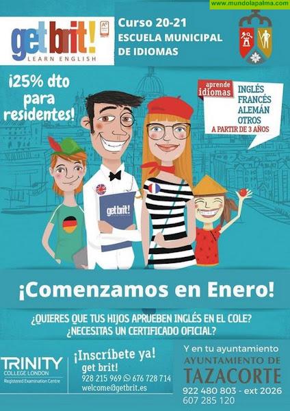 Curso 20-21 Escuela Municipal de Idiomas de Tazacorte