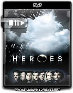 Heroes 1ª, 2ª, 3ª e 4ª Temporada Torrent