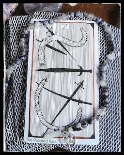Five of Swords card from Thw Wild Unknown Tarot
