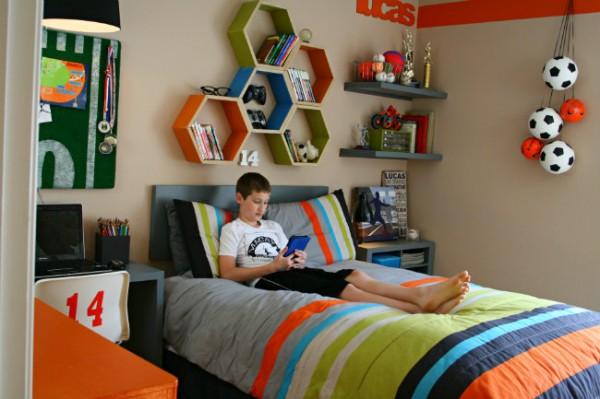 Boy Bedroom Ideas Sports Simple Design Ideas